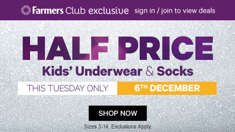 Half Price Underwear & Socks