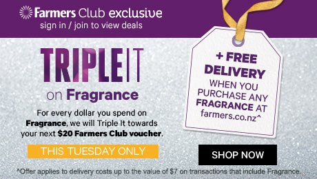 Triple It on Fragrance + Free Shipping