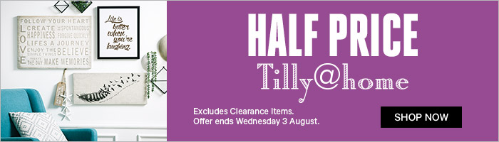 Half Price Tilly@home