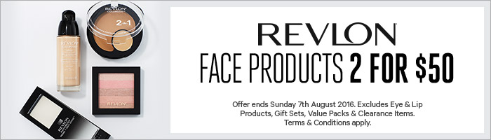 Revlon Face Products 2 for $50