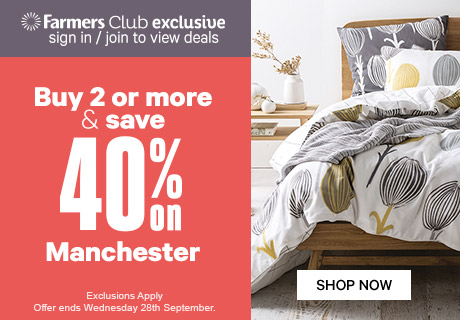 Buy 2 or more & save 40% on Manchester