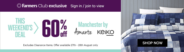 60% off Manchester by Amante & Keiko