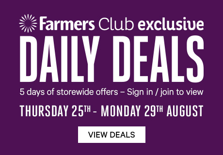 Daily Deals Thursday 25th - Monday 29th August