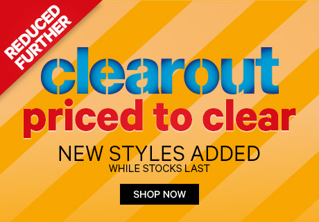 Clearout - priced to clear