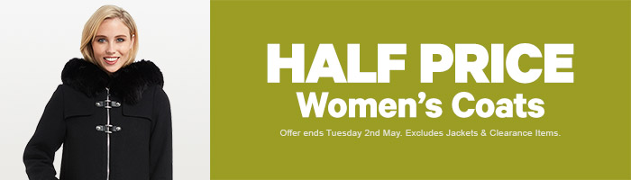 Half Price Women's Coats