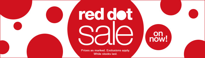 Red Dot Sale - On Now!