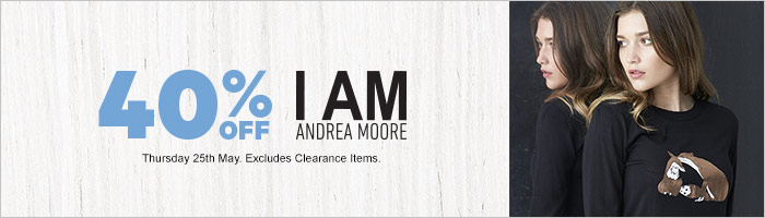 40% off I AM by Andrea Moore