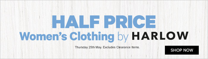 Half Price Women's Clothing by Harlow