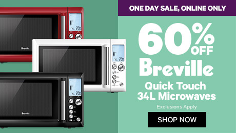 60% off Breville Quick Touch 34L Microwaves