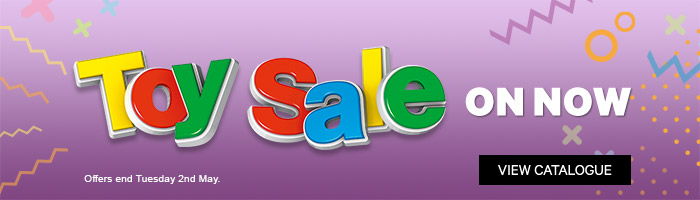 Toy Sale On Now - Must End 2nd May