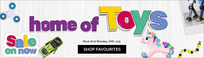 Home Of Toys Sale On Now - Must End 24th Of July