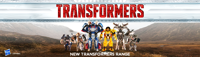 Explore the new Transformers range!