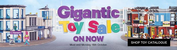 Gigantic Toy Sale - Must End 16 October