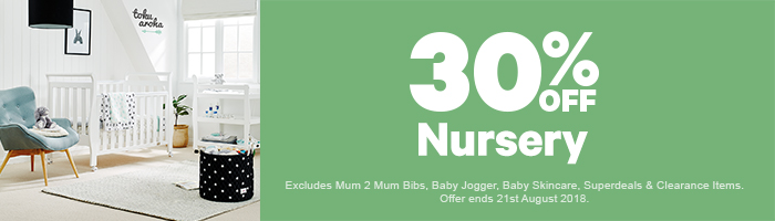 30% Off Nursery - Must end 21st August!