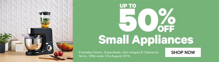 Up To 50% off Small Appliances | Shop Now