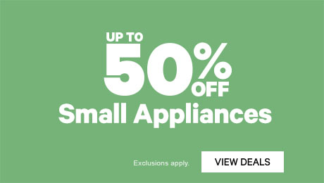 Up to 50% off Small Appliances