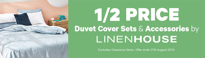 1/2 Price Duvet Cover Sets & Accessories by Linenhouse