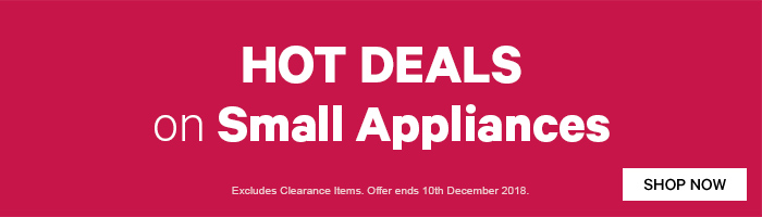 Hot Deals on Small Appliances