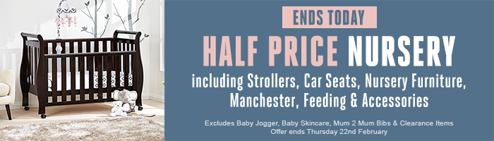 Half Price Nursery - Must End Today!