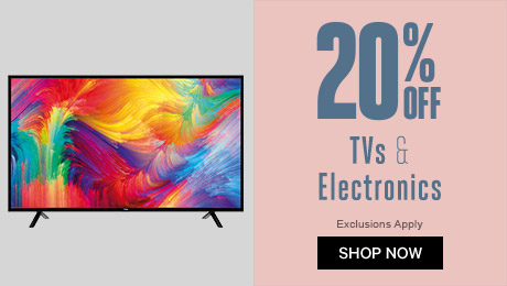 20% off TVs & Electrical