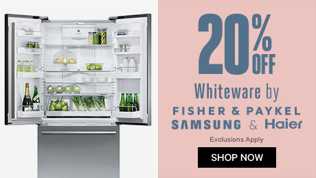 20% off Whiteware