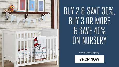 Buy 2 or more and save 30%, or buy 3 ore more & save 40% on Nursery