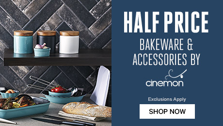 New Season Home: Half Price Bakeware & Accessories by Cinemon