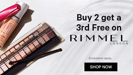 Buy 2 get a 3rd Free on Rimmel