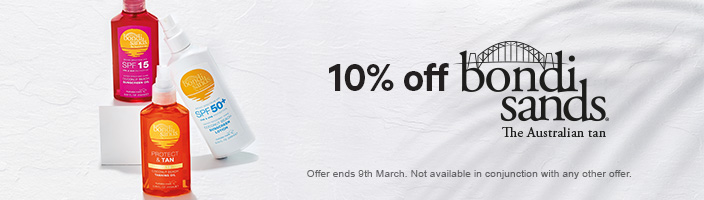 10% off bondi sands