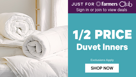 Just for Farmers Club 1/2 Price Duvet Inners