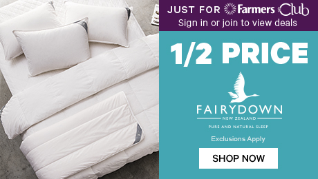 Just for Farmers Club 1/2 Price Fairydown