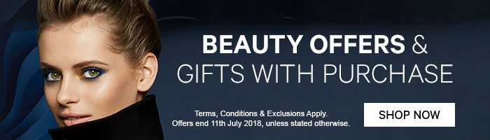 beauty offers & gifts with purchase