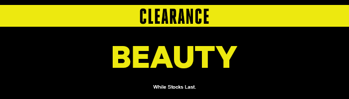 Clearance Beauty