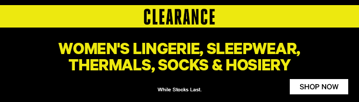 Women's Clearance on now