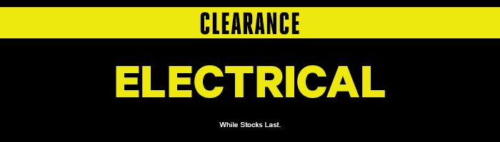 Clearance Electrical