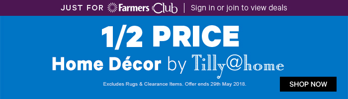 1/2 Price Home Decor by Tilly@home | Shop Now!