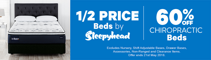 50-60% off Beds by Sleepyhead | Shop Now!