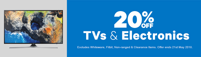 20% off TVs & Electronics | Shop Now