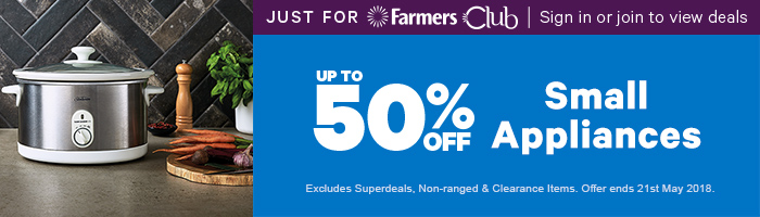 Exclusive to Farmers Club | Shop Now
