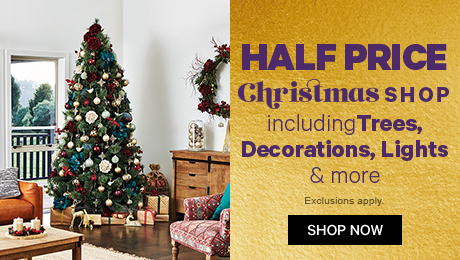 Half Price Christmas Shop