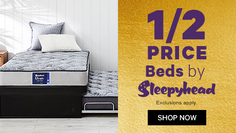 1/2 Price Beds by Sleepyhead