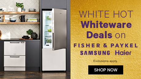 White Hot Whiteware Deals on F&P, Samsung & Haier