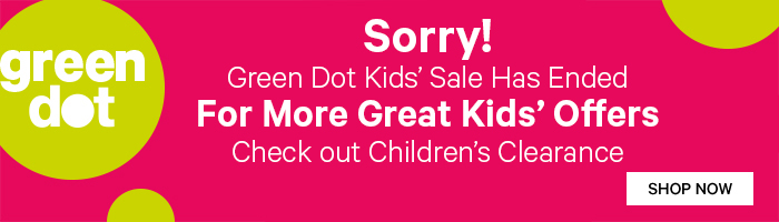 Green Dot Kids' sale has ended. Check out Kids' Clearance for more great kids' offers