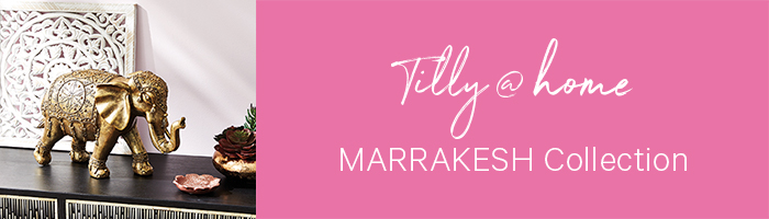 Tilly@home's Marrakesh Collection