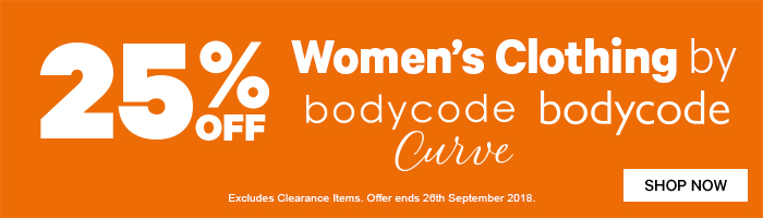 25% off Women's Clothing by Bodycode & Bodycode Curve