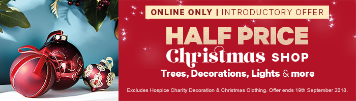 Online Only | Half Price Christmas Shop