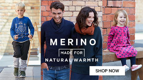 Merino made for natural warmth