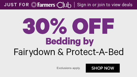 30% off Bedding by Fairydown & Protect-A-Bed