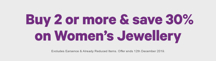 30% off Women's Jewellery