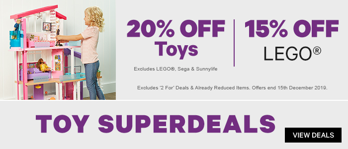 20% off Toys |15% off LEGO